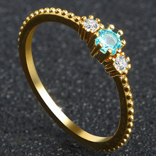 Gold Jewelry Engagement 18k Exquisite Party Fabala Diamond Elegant(China)
