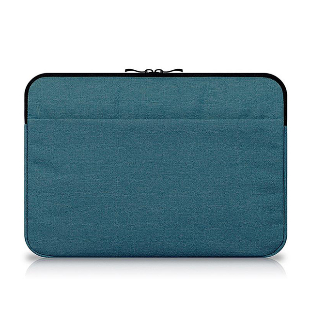 the best attitude b34a9 1298c US $6.03 14% OFF|Canvas Sleeve Laptop Bag For Macbook Air 11/12 /13/15Inch  Zipper Case For Mac For Lenovo Notebook Mouse Tablet Carry Pouch Cover-in  ...