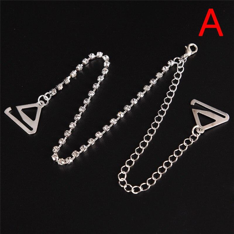 2pcs//pair  Rhinestone Women Fashion Adjustable Sparkle Diamante Shoulder Straps