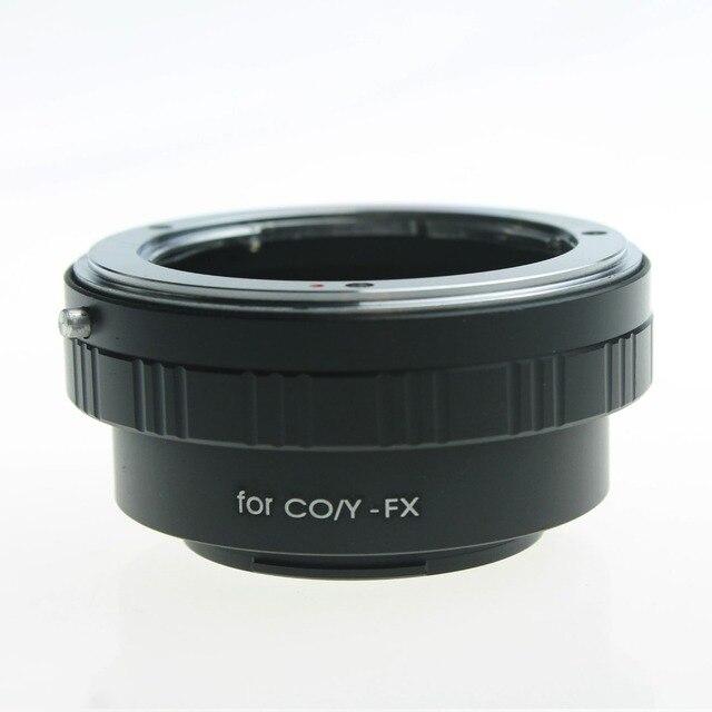 Nuevo anillo adaptador de lente de cámara de precio más bajo para Contax Yashica CY lente a Fujifilm Fuji X-pro1 adaptador Xpro1 FX