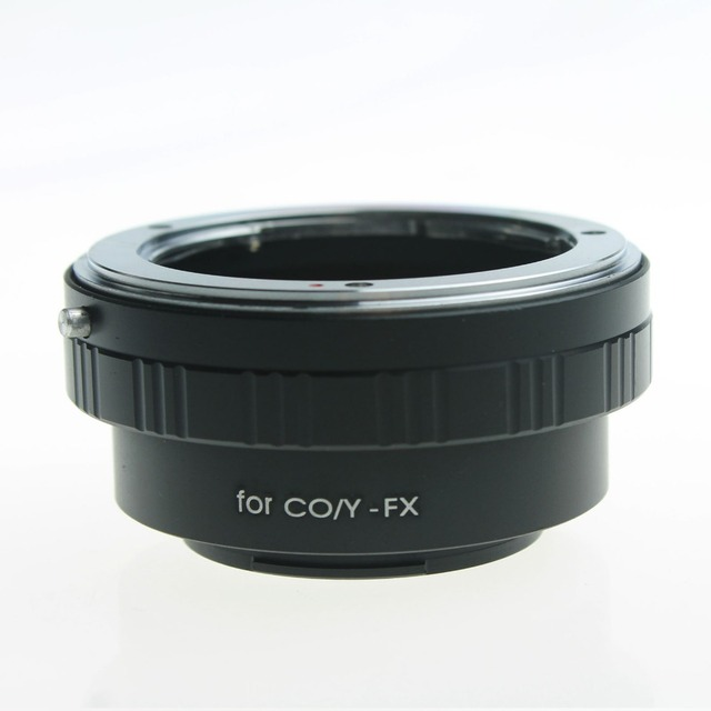 lower price NEW Camera Lens Adapter Ring For Contax Yashica CY Lens to Fujifilm Fuji X-pro1 Xpro1 FX Adapter