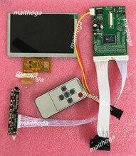 5-дюймовый HD противотуманный ЖК-экран (без касания) + (2 дороги AV + VGA), плата привода, комплект «сделай сам» с функцией заднего хода