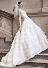 vestido de noiva long salomon ball bridal gown crystal 2014 new fashion sexy romantic lace appliques wedding dress bride dresses