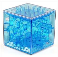 3D three-dimensional maze clear puzzle Fidget toys Magic Cubes TweakCube D019