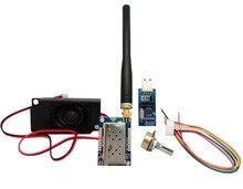 2sets/lot All in one vhf walkie talkie module kit SA828 VHF FM transceiver module