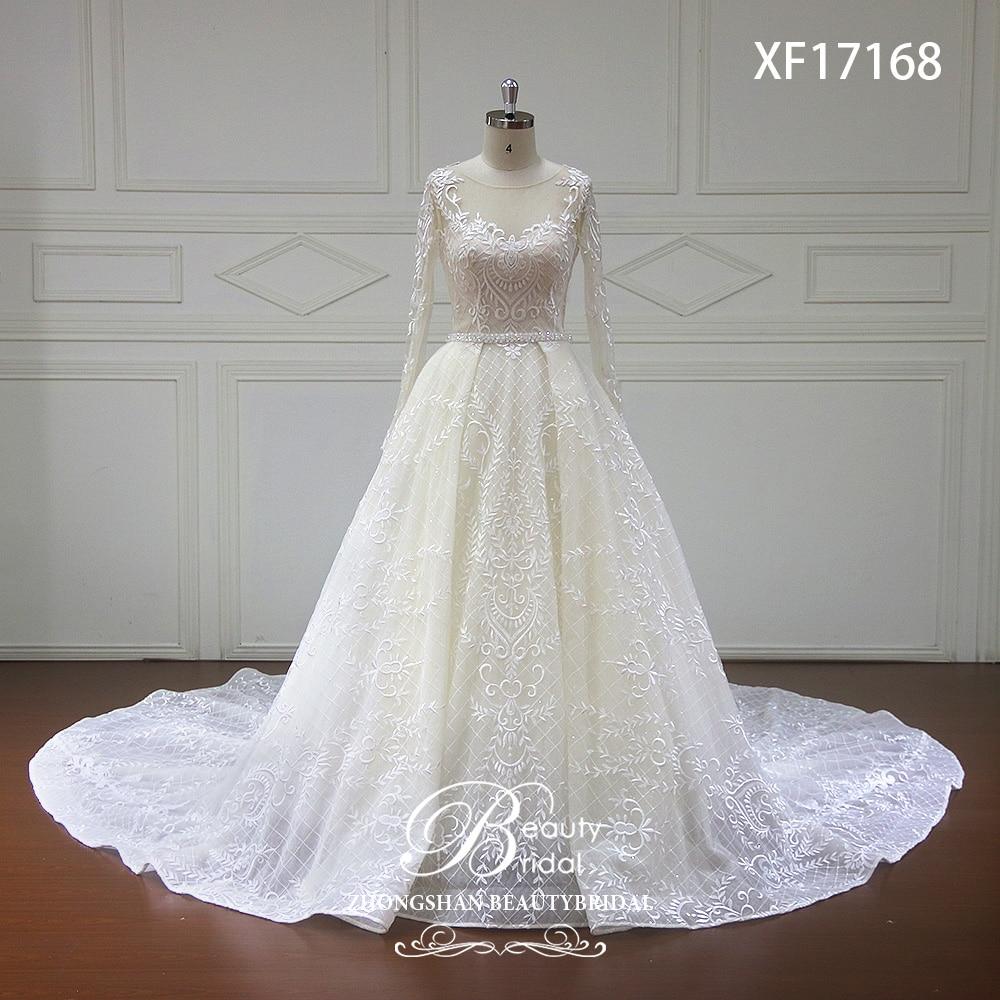 Vestido De Noiva 2018 Princess Wedding Dress Ball Gown Off: Vestido De Noiva Long Sleeve Princess Wedding Dresses 2018