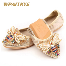 669c7338f Buy rhinestone ballet flats and get free shipping on AliExpress.com