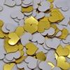 heart gold 100pcs