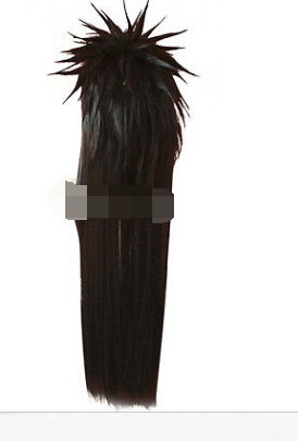 Free shipping !!! Fashion Modeling Madara Uchiha Long Black Straight Cosplay Wig modeling