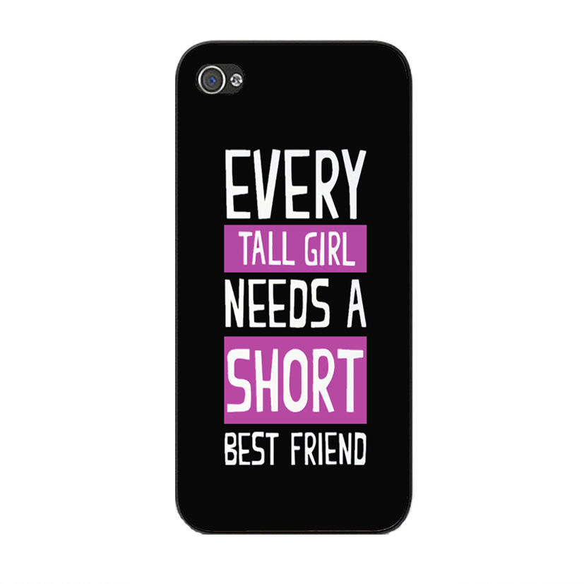 Awesome Tall And Shorts Best Friend Quotes Plastic Phone Cases For Iphone  5c 5 5s 4 4s 6 4.7 Inch One Piece Case Cover On Aliexpress.com | Alibaba  Group