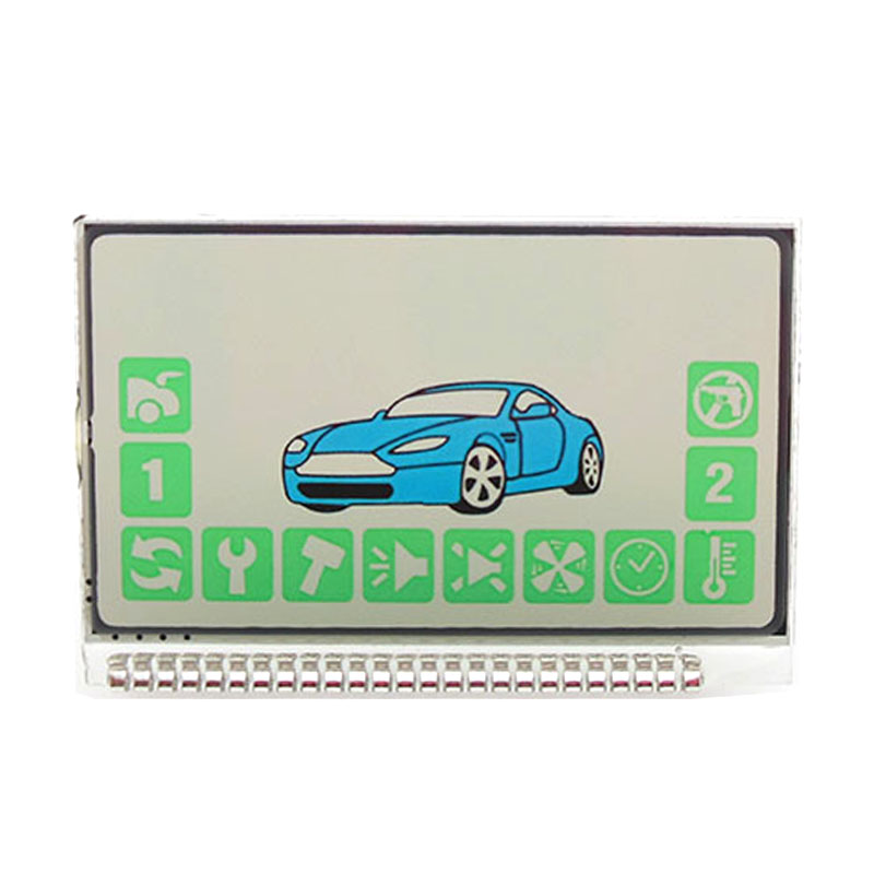 Russian Version A92 Lcd Display For Starline A92 Lcd Remote Two Way Car Alarm System