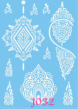 1PC Body Art White Elephant Tattoo Indian Henna Ganesha Small Elephant Tattoo For Men Women Waterproof Temporary Tattoo Sticker