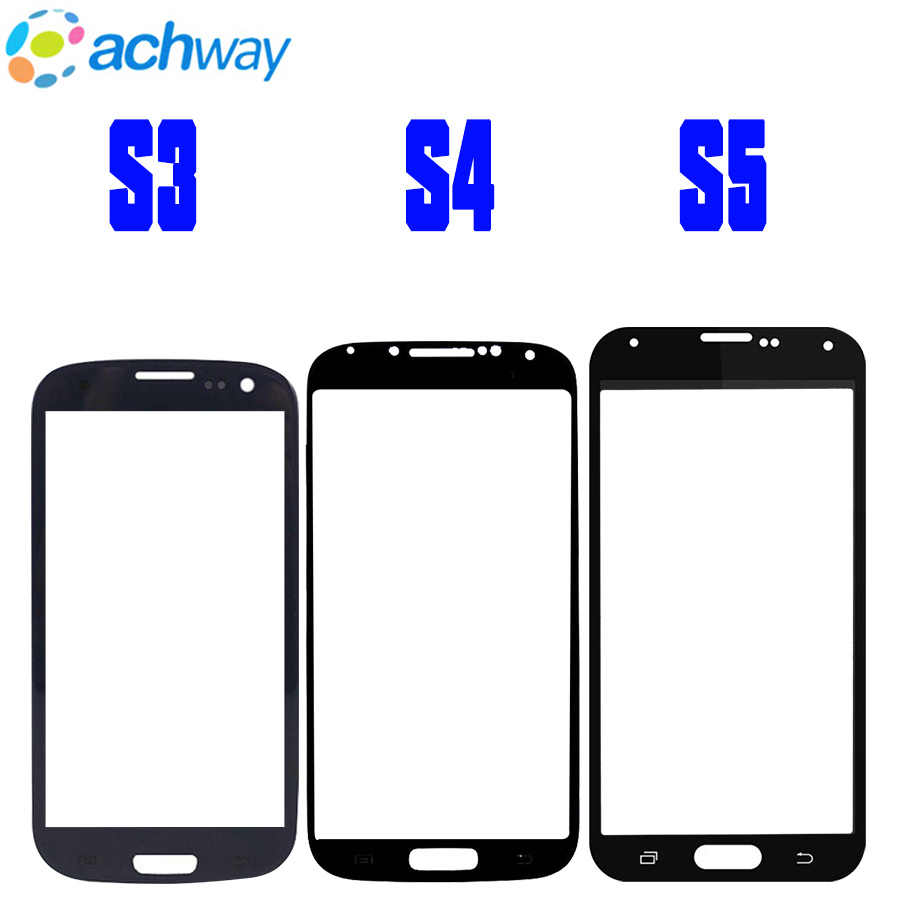 Front Panel For Samsung Galaxy S3 S4 S5 Mini G800 i9505 G900 Touch Screen Sensor LCD Display Glass Cover Replace For SAMSUNG S5