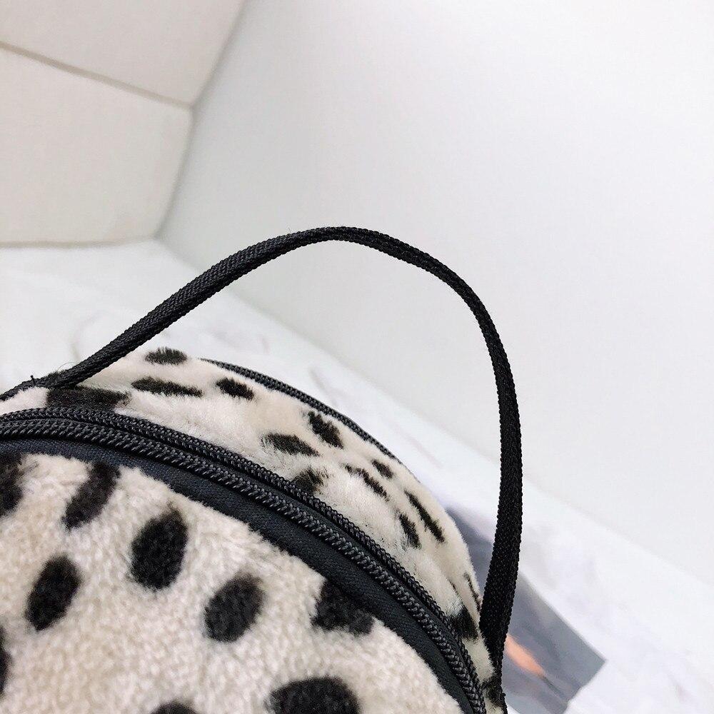 Pour D'école Peluche Femmes Étudiant Collège Sac Zipper Bandoulière 2018 En À Solide Fille Voyage Mode Dos 0SqY1d
