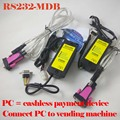 Free shipping two sets RS232-MDB ( PC2MDB ) / Connect your PC to vending machine