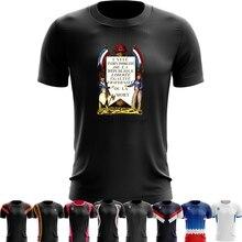 5aff226603ff8 Spor Hızlı Kuru koşu tişörtü Basketbol Eğitim T shirt Erkek Kadın Komik tshirt  Fransız Devrimi Poster