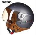 2016 Beon vintage Motorcycle helmet capacete motorcycles motorbike helmet DOT approved summer half helmets casco motorcycle htyn