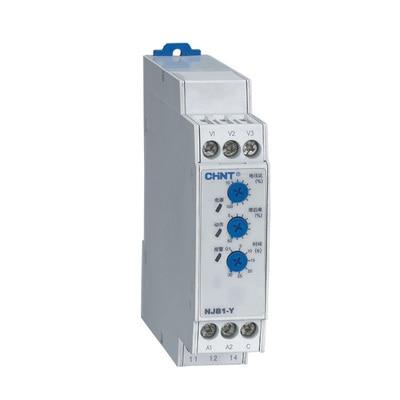 Protection de sécurité monophasé AC/DC surveillance de tension relais modulaire monophasé surtension sous tension protection NJB1-Y