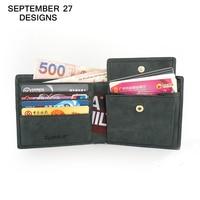 Brand 2016 Genuine Leather Men S Wallets Standard Wallet With Hasp Pocket Bifold Design Purses Receipt