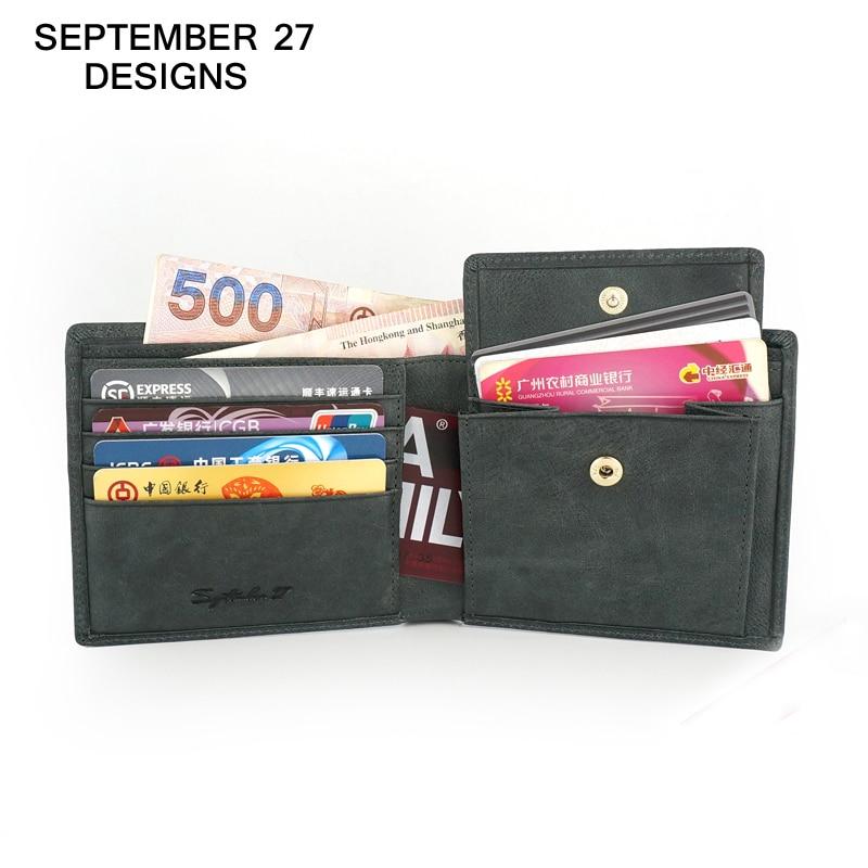 carteiras dos homens de luxo Marca : September 27 Designs