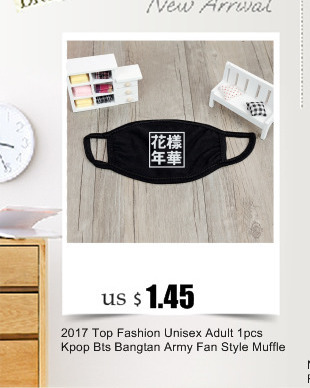 Boys Costume Accessories 100% True Kpop Bangtan Boys 2016 Young Forever Album K-pop Black Dust Cotton Face Mask Masque Kz002 Kids Costumes & Accessories