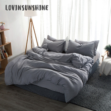 LOVINSUNSHINE Bed Duvet Cover Queen Size Bedding Set High Quality Comforter King AB#105