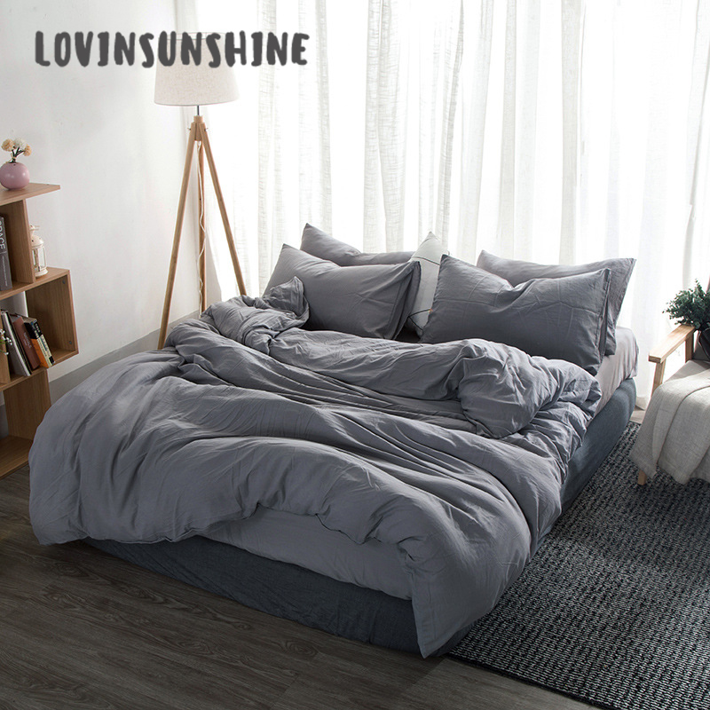 LOVINSUNSHINE Bed Duvet Cover Queen Size Bedding Set High Quality Bed Comforter King Size AB#105 title=