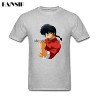 Men T Shirt Tailored Custom Cotton Short Sleeve T Shirt Men Male Ranma Nibun No Ichi