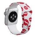 V-moro mais novo faixa de relógio de borracha de silicone para a apple watch band wrist band strap substituição para apple watch bandas 42mm