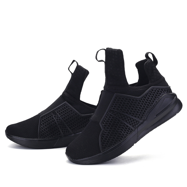 290bb51e6310 Hot Sales Brand Fashion Shoes Men 2017 Casual Men s Red Bottom Autumn New  Design Light Breathable Mesh Trainers Shoes for Men