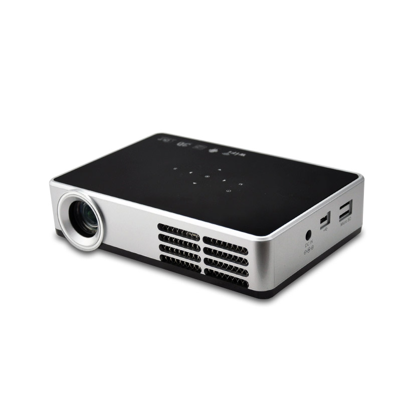 DH A600W WIFI Smart 3D Function Android font b Projector b font Full HD DLP TV