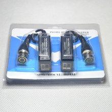 13 זוגות (26 pcs) BNC ל UTP Cat5/5e/6 וידאו Balun HD משדרי מתאם משדר תמיכת 720P 1080P AHD CVI TVI מצלמה 200M