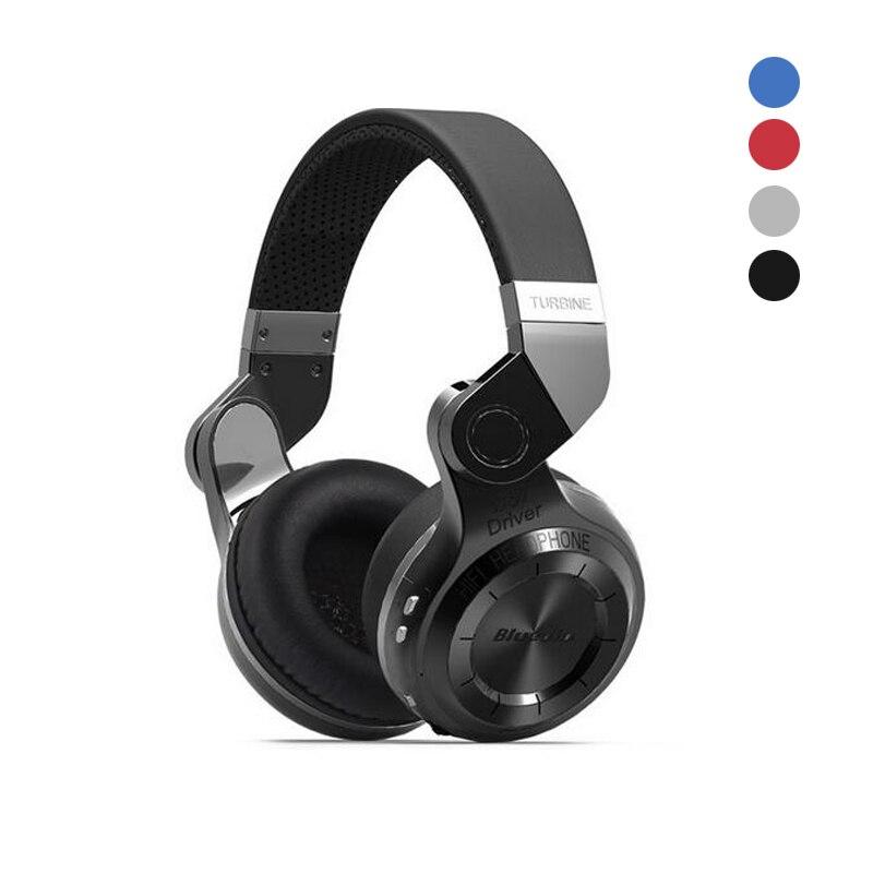 Original Bluedio T2S/T2 tir frein sans fil Bluetooth casque 4.1 stéréo intégré Mic musique casque sur l'oreille écouteur