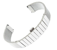 Ремешок 20 мм 22 мм 24 мм из нержавеющей стали акула сетки браслет дайвинг часы новый браслет бесплатная доставка