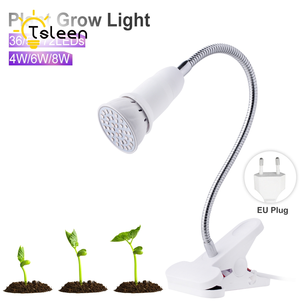 SALE 36 54 72 led grow light Hydroponic lighting with Clip plants Lamps for flower hydroponics system indoor garden greenhouse 90w ufo led grow light 90 pcs leds for hydroponics lighting dropshipping 90w led grow light 90w plants lamp free shipping