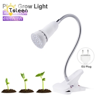 SALE 36 54 72 Led Grow Light Hydroponic Lighting With Clip Plants Lamps For Flower Hydroponics
