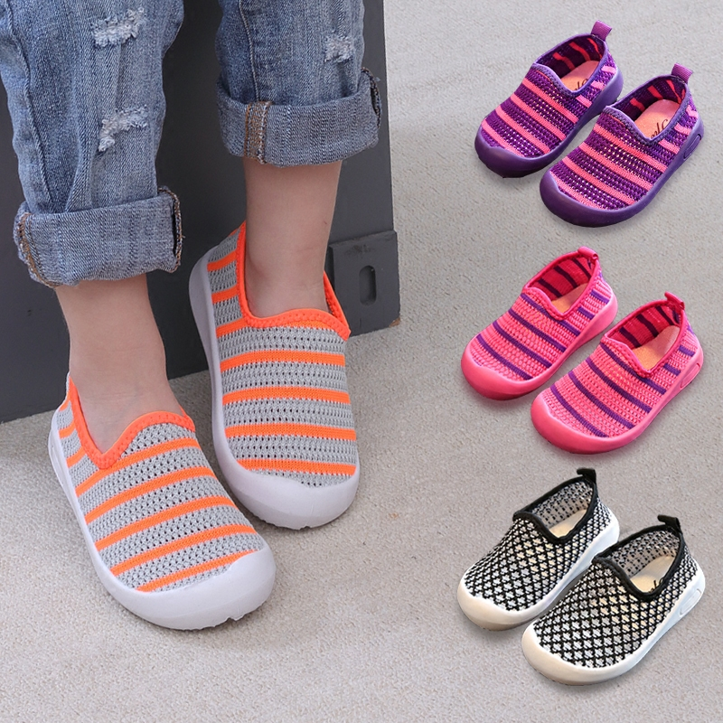 Summer And Autumn Fashion Children's caterpillar Shoes kids Soft  Anti Slip baby Toddlers shoes New Boys Girls Net surface shoes