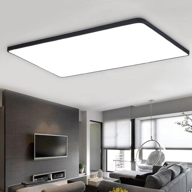 Ultra sottile ferro Acrilico plafoniere a led per soggiorno sala da ...