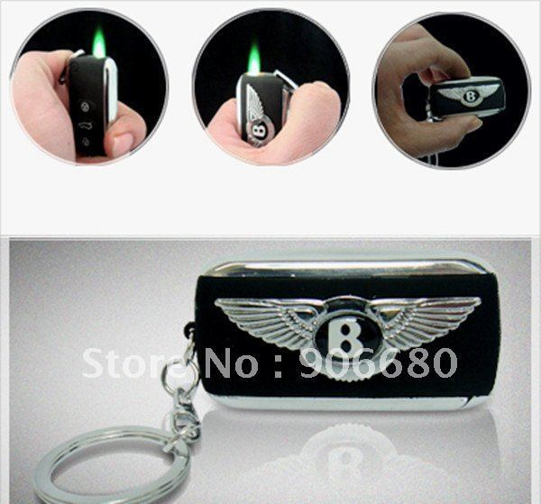 CI035 Bentley key keyring style windproof lighter