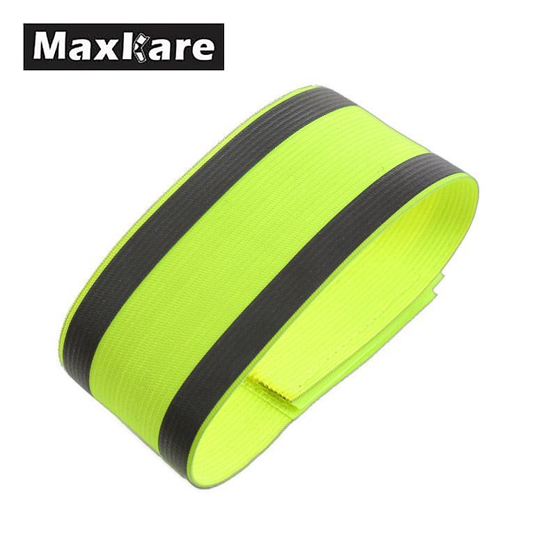 Night Reflective Safety Belt Night Run Armband For Outdoor Sports Night Running Cycling Jogging Arm Strap Luminous Arm Band цена