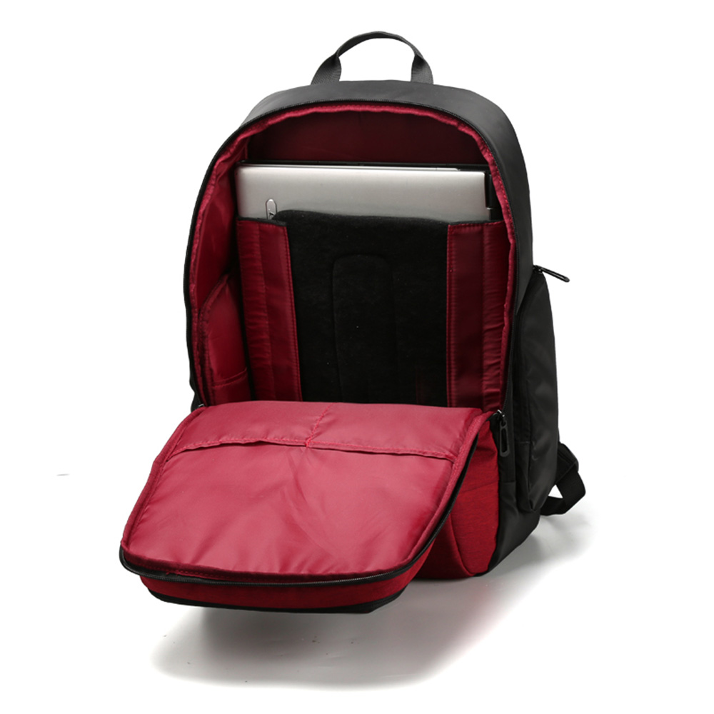 Kingsons Anti Theft Backpack External Usb Charge Laptop