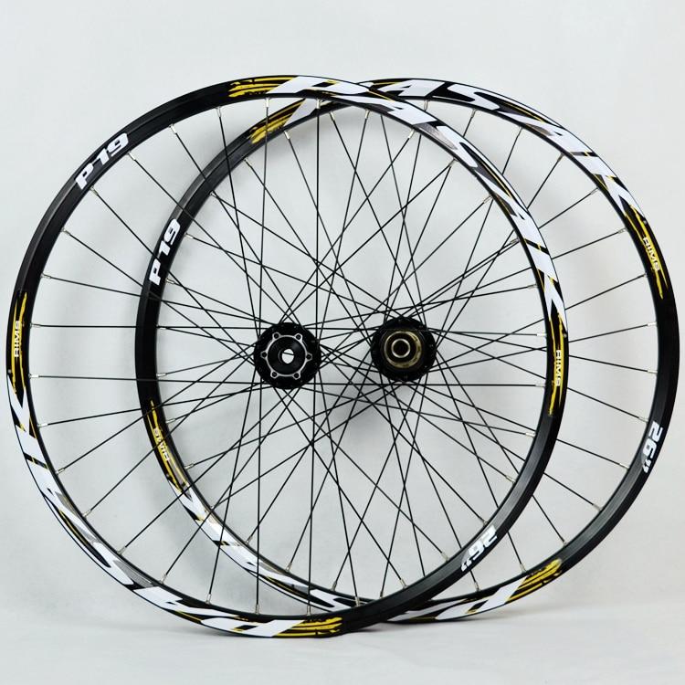PASAK MTB Downhill de Mountain bike Cauda Suave AM Thru Eixo Eixo selado rolamento Rodas Rodado 20*110mm 12*142mm rim