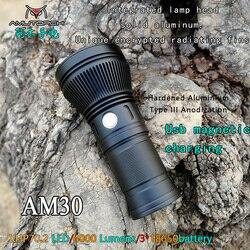 Amutorch AM30 cree XHP70.2 30w 4000 Lumen leistungsstarke LED taschenlampe usb magnetic charging Helligkeit aufladbare taschenlampe 18650