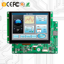 цена на 5 touch display embedded LCD module with uart serial interface + controller board + program