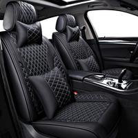 leather car seat covers for mercedes w124 w203 w202 mercedes w211w212 w245 cla gla s600 car accessories car seat protector