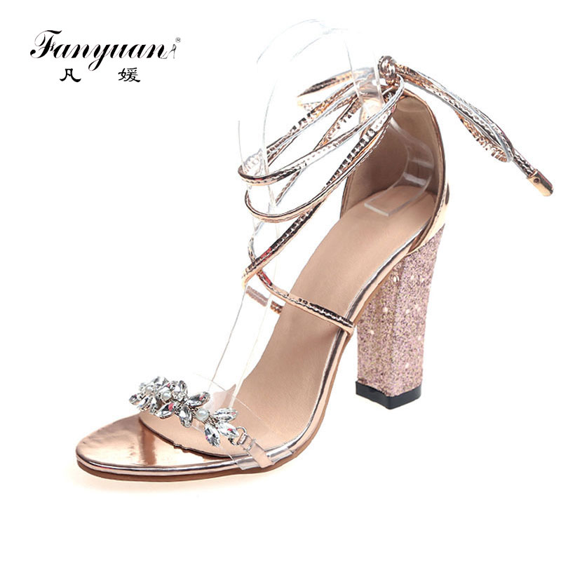 Buy transparent shoes block heel and get free shipping on AliExpress.com 368bee8122a3
