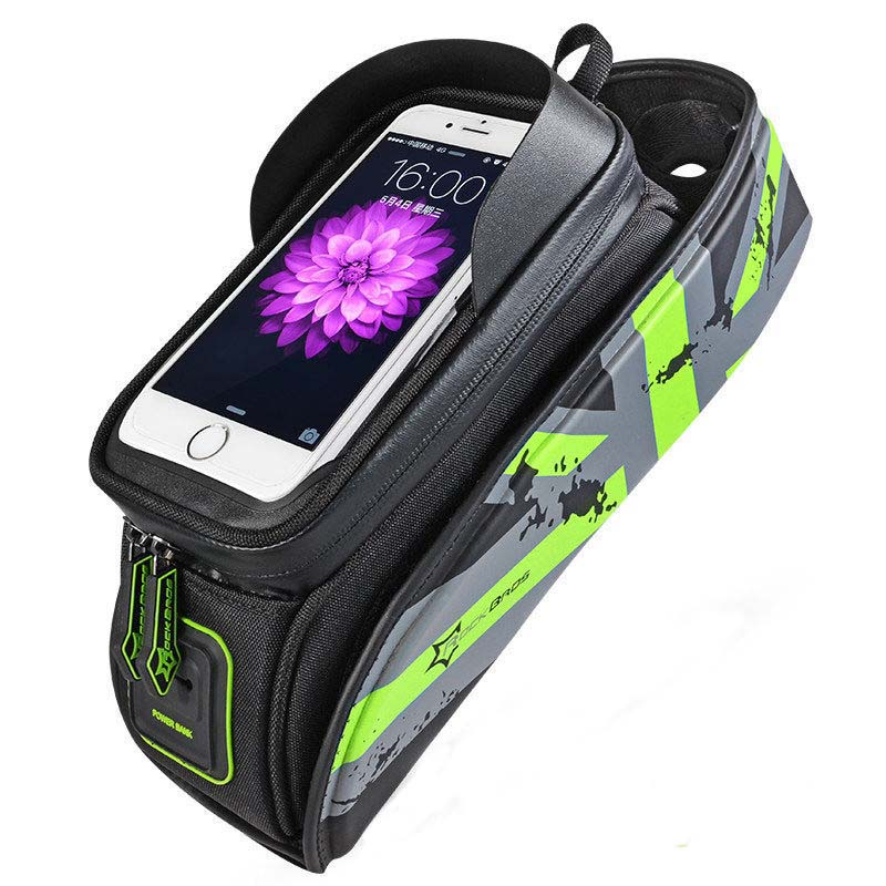 Rockbros Bicycle Bag 5.8 6.0 Inch Phone Case Waterproof Touchscreen - Cycling - Photo 3