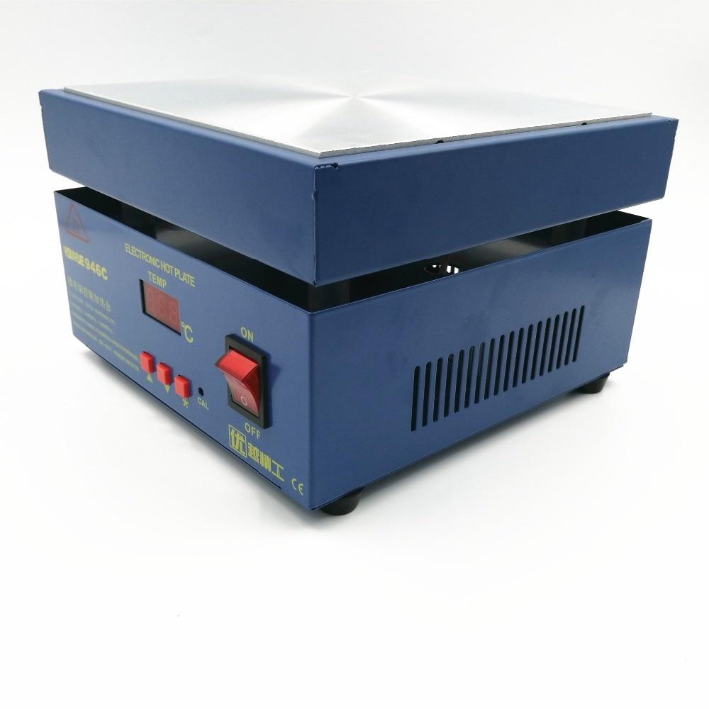110 / 220V 800W 946C Електронна подгряваща - Заваръчно оборудване - Снимка 2