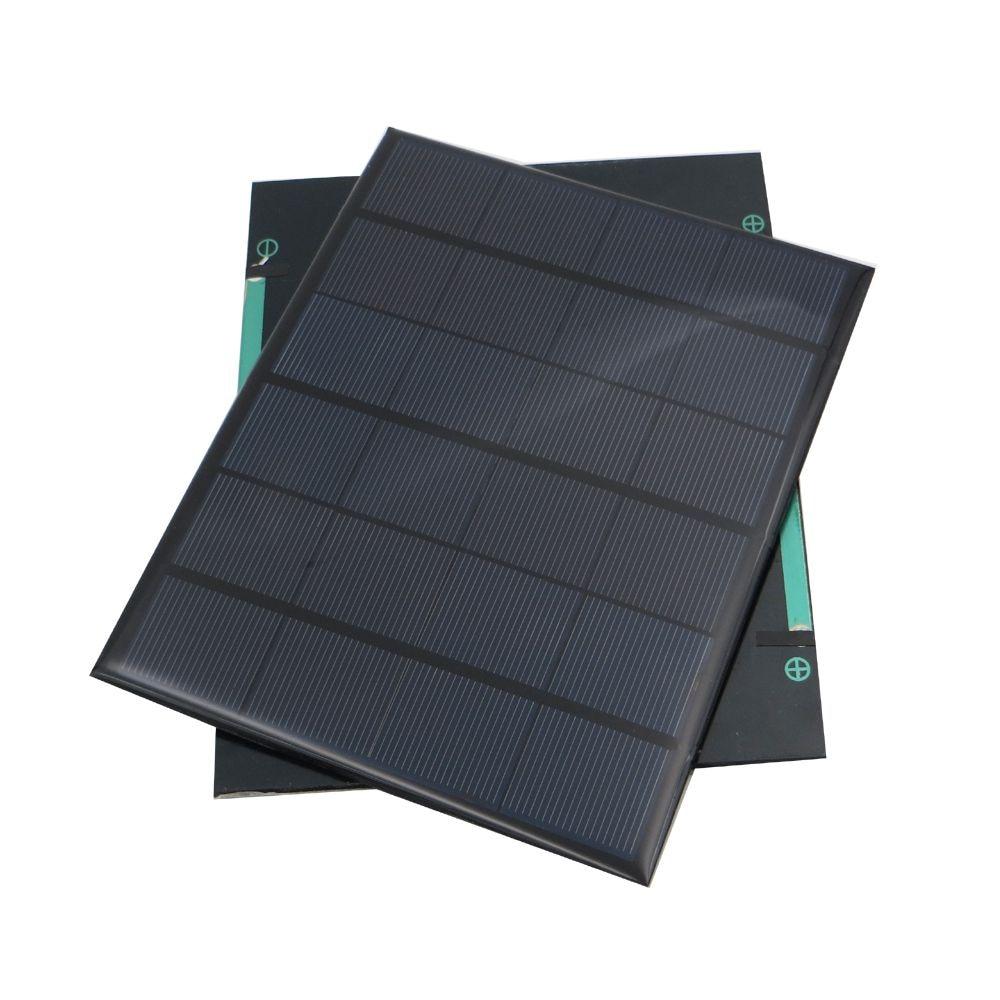 6V 3.5W Solar Panel Portable Mini Sunpower DIY Module Panel System For Solar Lamp Battery Toys Phone Charger Solar Cells