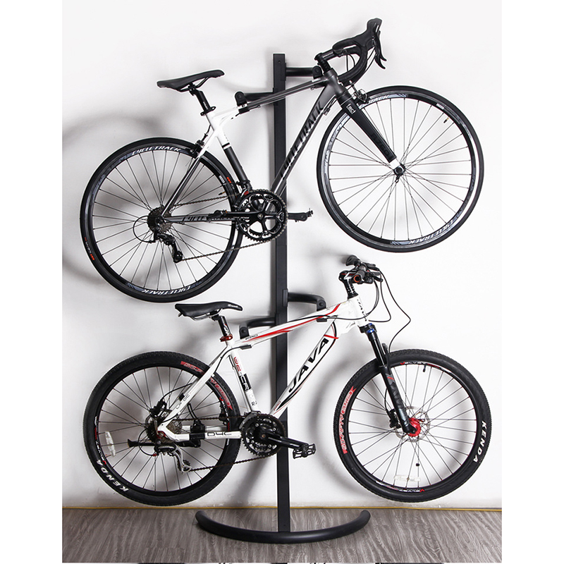 High Quality Bicycle Parking Rack Wall Vertical Stable Display Stand Art Bike Rack Perfect Mechanical Design Bicycle Support